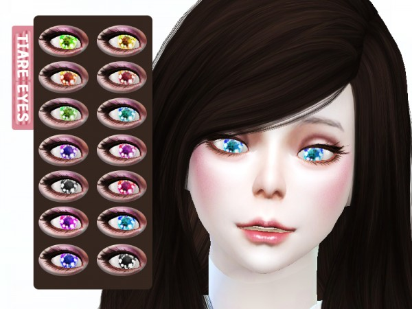 The Sims Resource: Dolly Eyes B5 by TIAREHOME