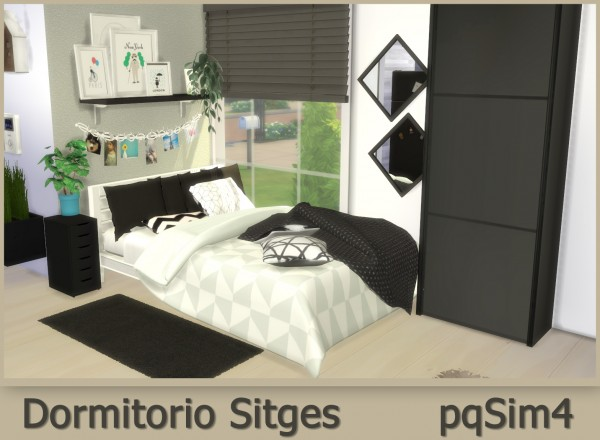 PQSims4: Sitges Bedroom
