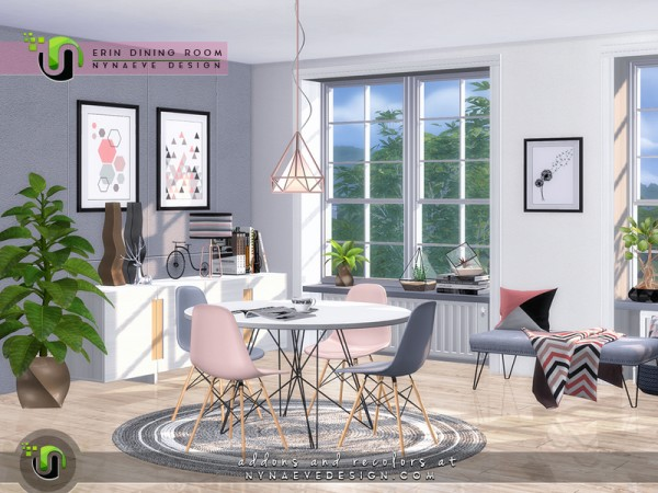 The Sims Resource: Erin Diningroom by NynaeveDesign