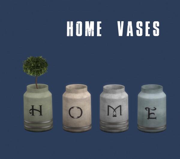 Leo 4 Sims: Home vases
