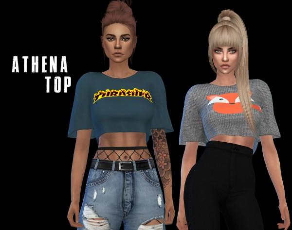 Leo 4 Sims: Athena top