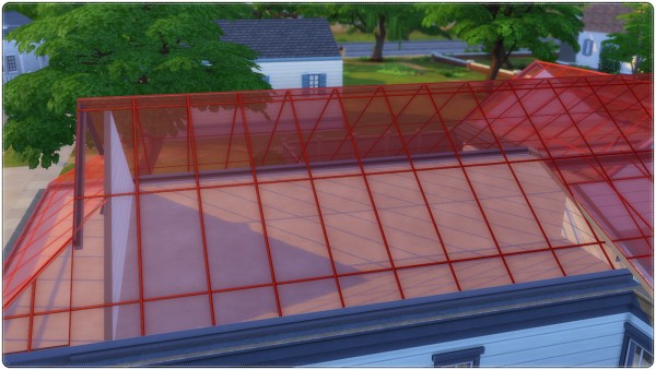 Annett`s Sims 4 Welt: Colorful Glass Roofs