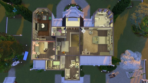 Mod The Sims: Shabby Chich House by Kriint
