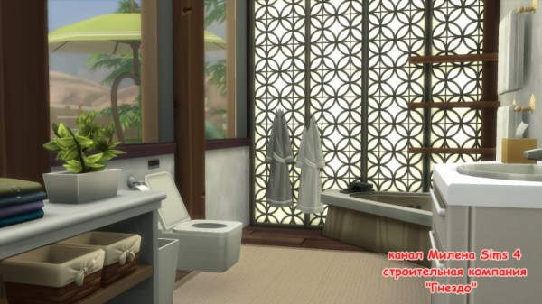 Sims 3 by Mulena: House Oasis 1