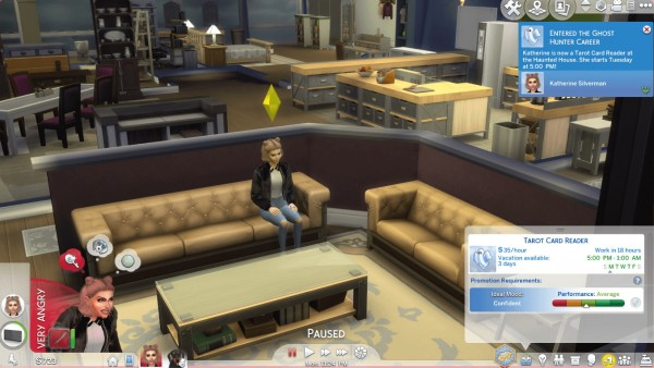 Mod The Sims: Ghost Hunter Career by Twilightsims