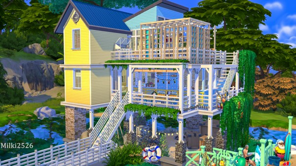 Milki2526: House on stilts