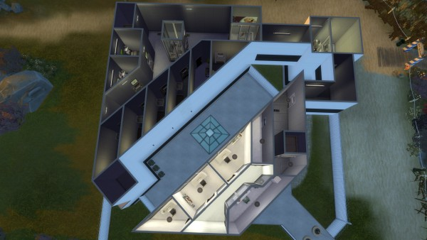Mod The Sims: The White Dead Prison by CEBEPOK