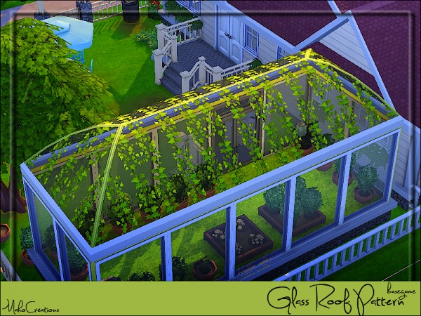 The Sims Resource: Glass Roof Pattern by MahoCreations