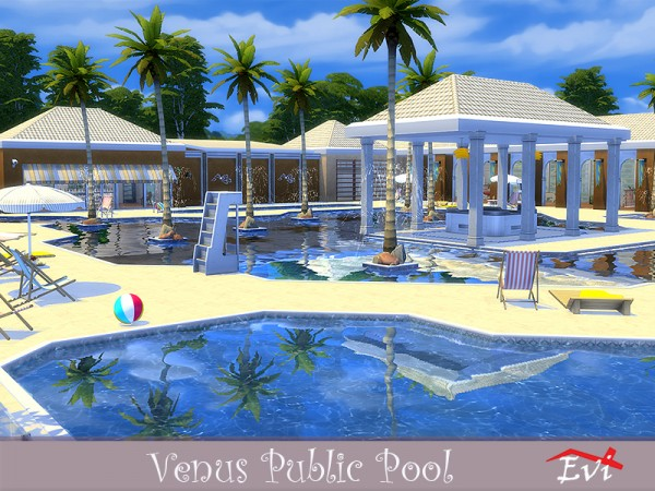 The Sims Resource: Venus Public Pool by evi