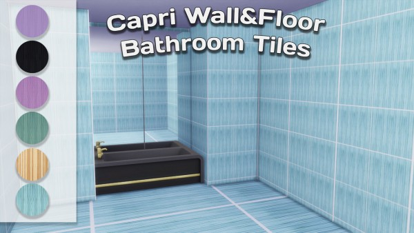 Simming With Mary: Capri tiles
