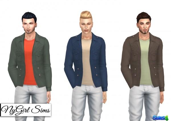 NY Girl Sims: Riot Jacket with Tee