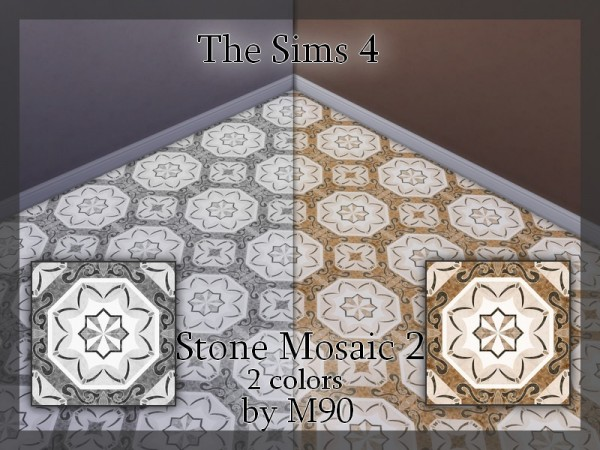 The Sims Resource: Stone Mosaic 2 by Mircia90