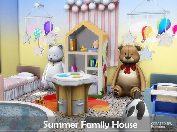 The Sims Resource: Summer Family House by Runaring