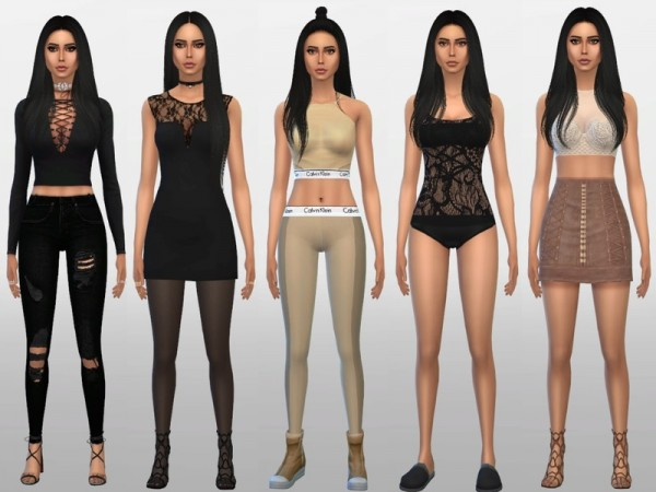 The Sims Resource: Amber Scholl by sand y