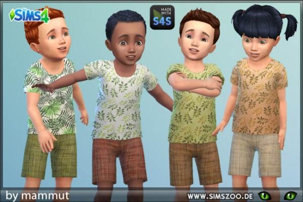 Blackys Sims 4 Zoo: Outfit Naturi by mammut