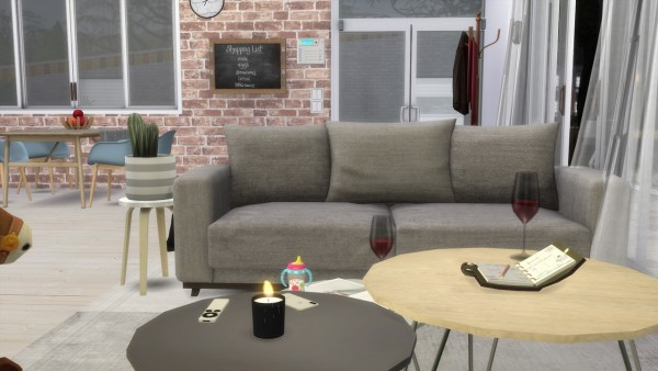 Models Sims 4: Livingroom Newport