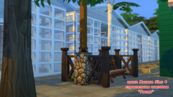Sims 3 by Mulena: Green houses