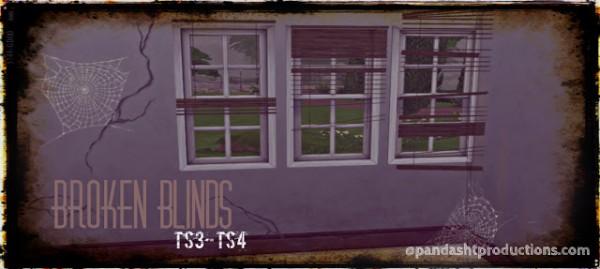 Pandashtproductions: Broken Blinds set
