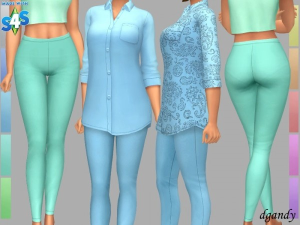 The Sims Resource: Leggings Demi by dgandy