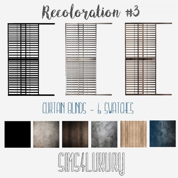 Sims4Luxury: Recoloration 3