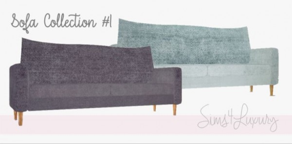 Sims4Luxury: Sofa Collection 1