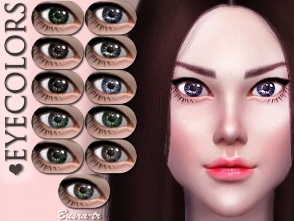 The Sims Resource: EyesX 02 by busra tr