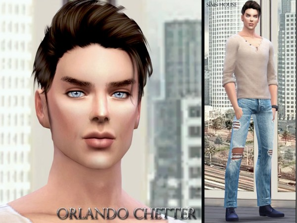 The Sims Resource: Orlando Chetter by Sims House