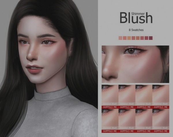 GOPPOLS Me: Shimmer Blush