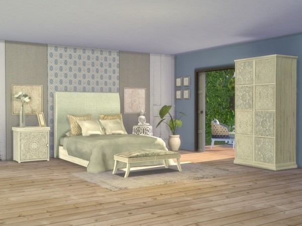 The Sims Resource: Giorno Bedroom by Nikadema