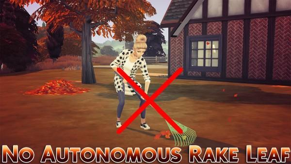 MSQ Sims: No Autonomous Rake Leaf