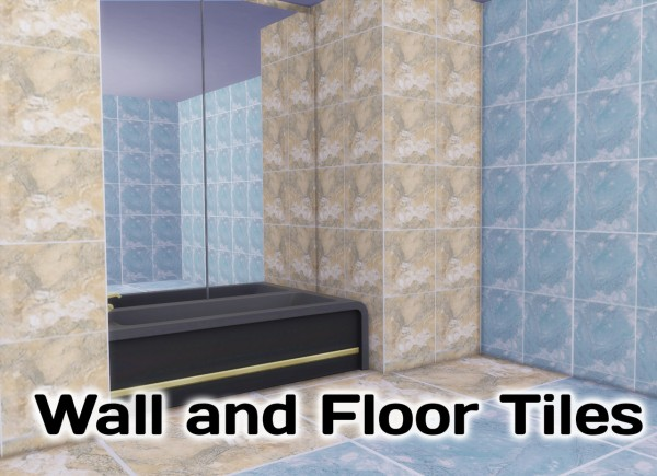 Simming With Mary: Monique Bathroom Tiles