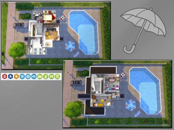 The Sims Resource: Ambrella Road house by matomibotaki