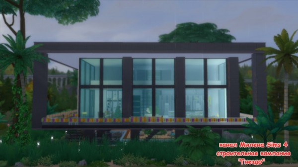 Sims 3 by Mulena: House Type of sea