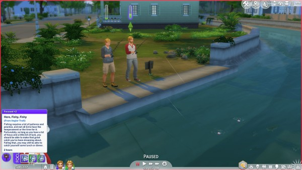 Mod The Sims: Angler Trait  by SimplyInspiredSims4