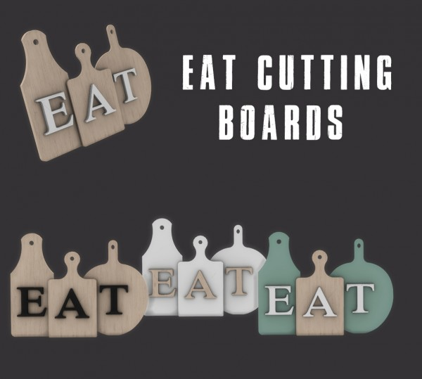 Leo 4 Sims: Eat boards