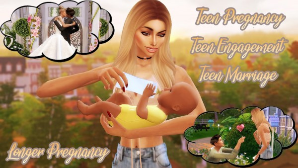 MSQ Sims: Pregnancy and Marriage Mod (Longer Pregnancy)