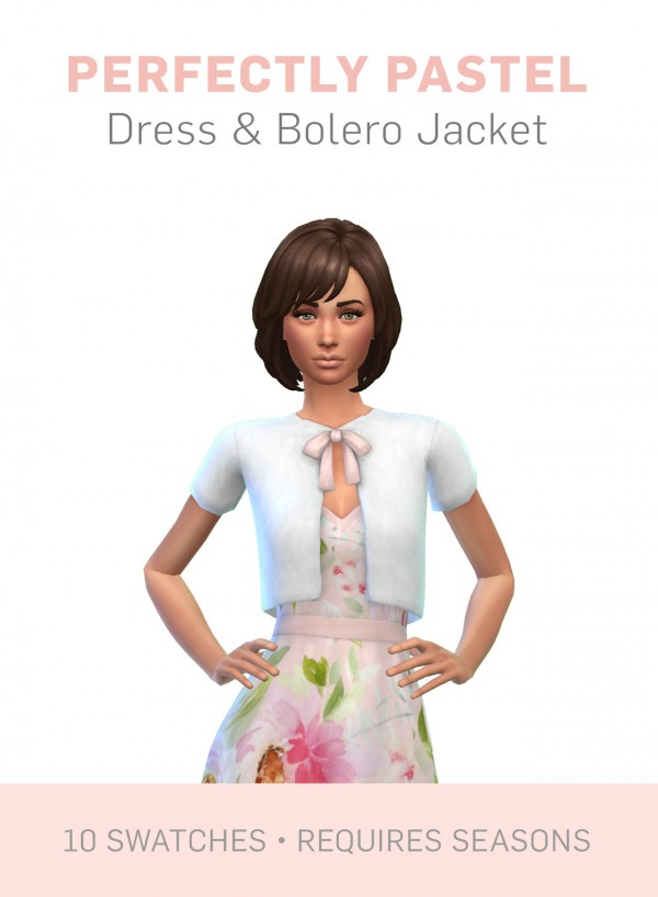 Simplistic Perfectly Pastel Dress Sims 4 Downloads