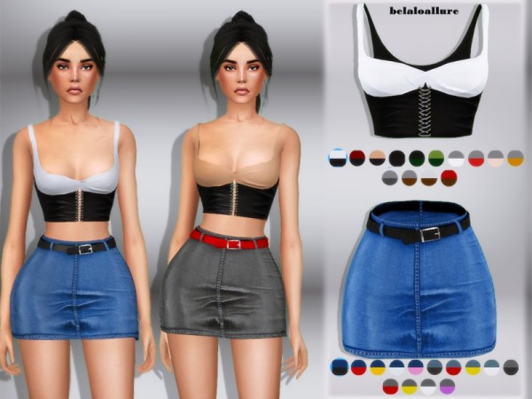 The Sims Resource: Eva set by belal1997
