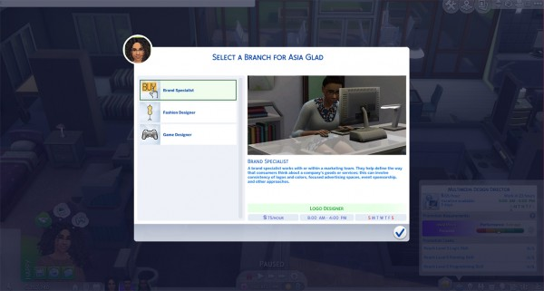Mod The Sims: Ultimate Graphic Design Career by asiashamecca