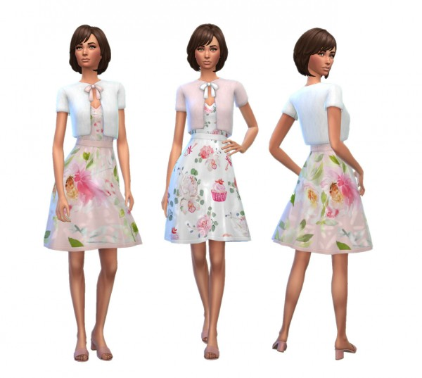 Simplistic: Perfectly Pastel dress