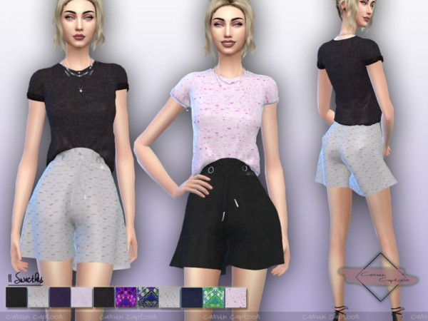 The Sims Resource: Chaira outfit by carvin captoor