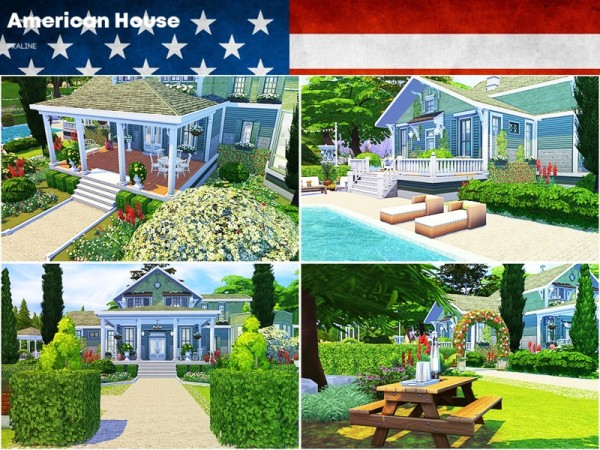 The Sims Resource: American House by Pralinesims