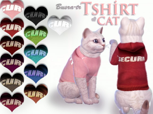 The Sims Resource: Security cat T shirts by busra tr