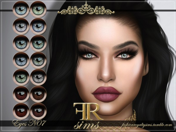 The Sims Resource: Eyes N07 by FashionRoyaltySims