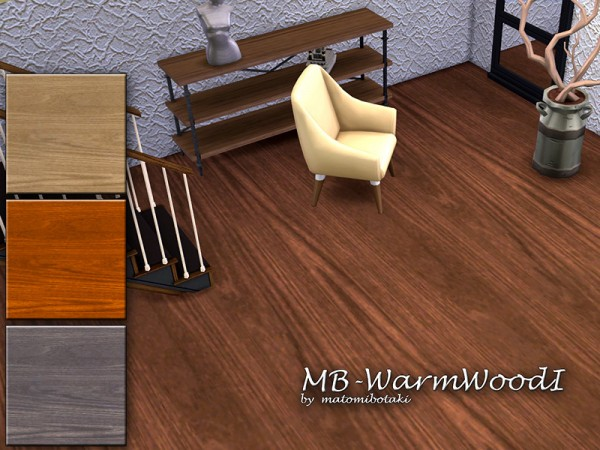 The Sims Resource: Warm Wood fIoor by matomibotaki