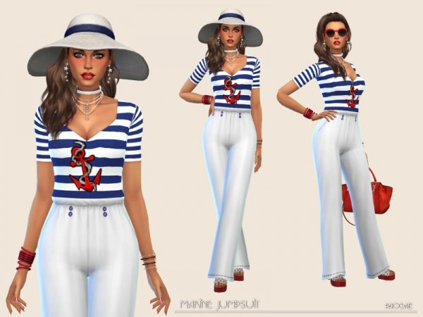 The Sims Resource: MarineJumpsuit by Paogae