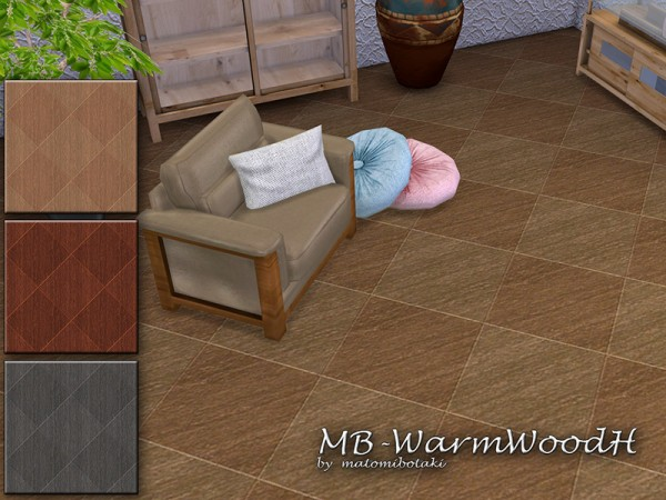 The Sims Resource: Warm Wood H by matomibotaki