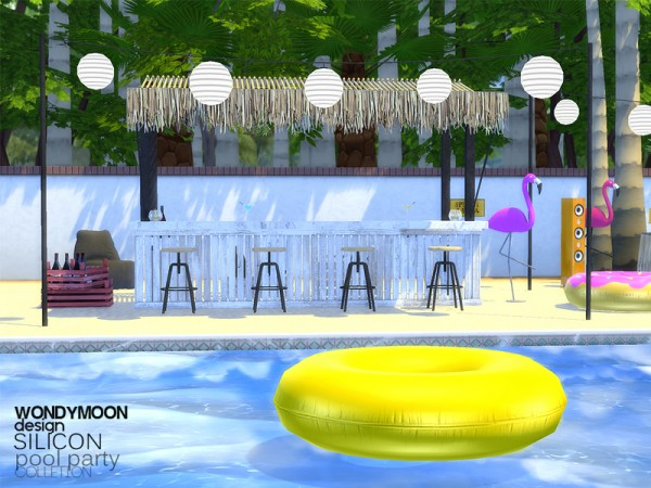 The Sims Resource: Silicon Pool Party   Part I by wondymoon