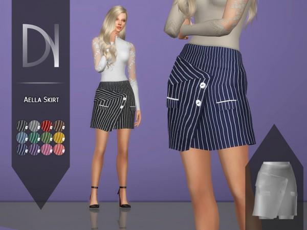 The Sims Resource: Aella Skirt by DarkNighTt