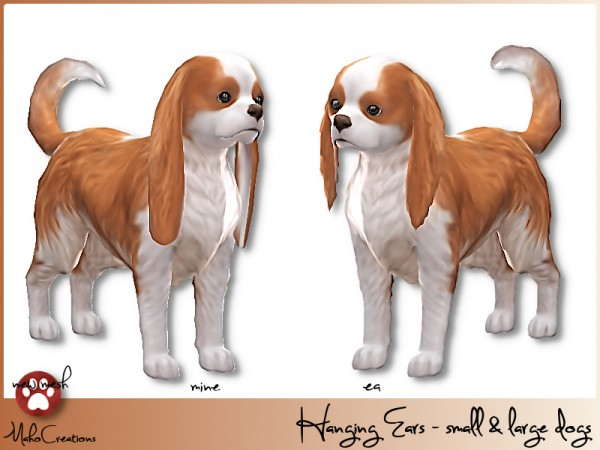 The Sims Resource: Hanging Ears   Dogs by MahoCreations